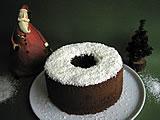 チョコレート&オレンジシフォンケーキ クリスマス限定バージョン